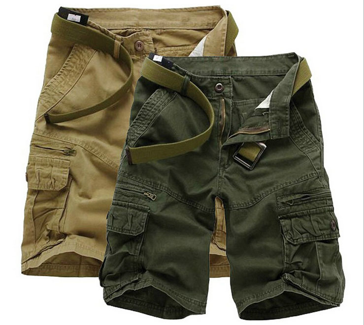 Free Shipping Fashion style new mens tactical military shorts cargo casual beach jeans summer men short trousers shorts
