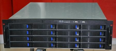 3U 550MM long 16 bit hot swap server storage HD monitor NS short chassis 3316