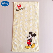 20x50cm Cotton Soft Face Towel Cartoon Children kids Boy Girl Adult  Minnie Mickey Mouse Donald Duck  Water Absorbing Towel