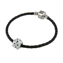 Flowers DIY Crystal Beads Fit Pandora Bracelet Daisy