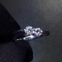 Кольцо с бриллиантом 0.305ct Pt900 Настоящее Платиновое золото 100% натуральные белые бриллианты ювелирные изделия женские Свадебные обручальные ...