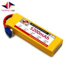 Перезаряжаемые 11.1 В 5200 мАч 3 S 35C lynyoung lipo батарея для RC дроны вертолет, самолет, Автомобиль Quadcopter велосипед лодка грузовик