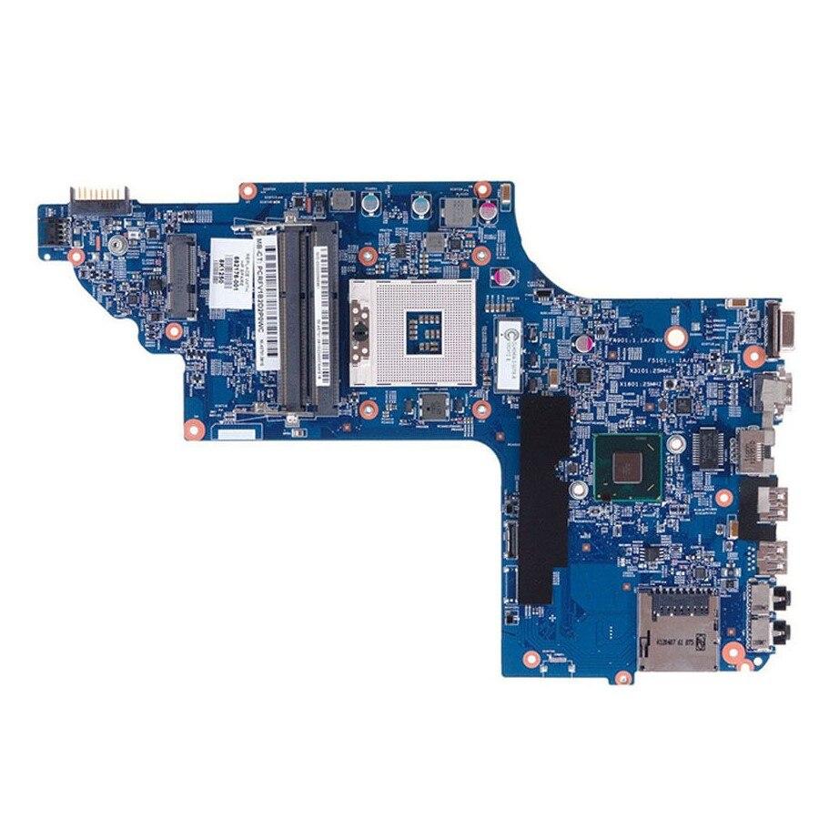 682176-001 for HP DV6 DV6T-7000 NOTEBOOK for HP ENVY DV6 DV6-7000 series laptop motherboard 48.4ST04.021 Tested wholesale laptop motherboard 682171 001 for hp envy dv6 dv6 7000 630m 2g notebook pc systemboard 682171 501 90 days warranty