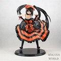 Бесплатная доставка аниме дата онлайн кошмар Tokisaki каруми фигурка сексуальная девушка пвх фигурку модель коллекция детские игрушки 21 см