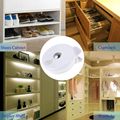 MINI led night lights lampada usb light PIR Motion Light Activated Indoor Sensor Clip Lamp for Drawer Shelf Cabinet Corner