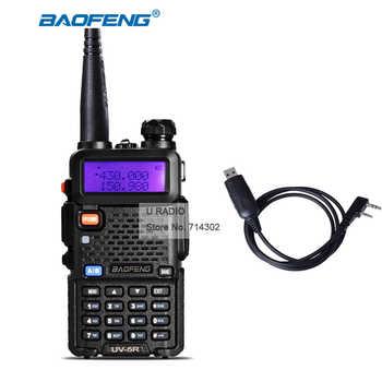 Baofeng UV-5R Portable Radio Transceiver VHF UHF Dual Band Walkie Talkie Handheld Ham Radio Walkie Talkie Set Amateur Radio uv5r