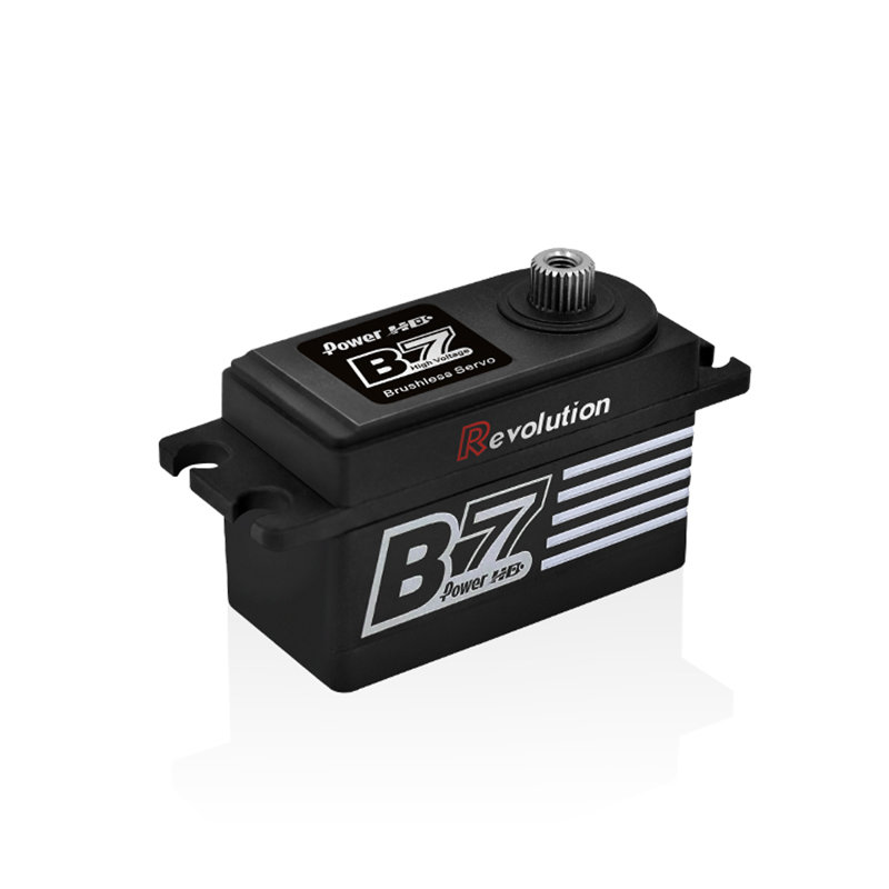 Power HD B7 Revolution brushless servo metal gear 13KG HV for RC cars on-road cys bls5115 64g 15kg cm metal gear brushless servo for rc cars boat plane