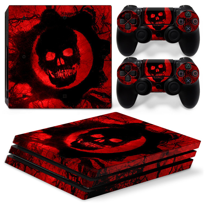 Fashionable Vinyl Decal Cover Skin Sticker For PS4 PRO console and controllers Stickers