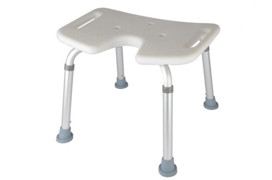 Adjustable height Professional bathroom chair skidproof bath stool for Patients the Old and Pregnant woman bathroom folding seat shower stool shower wall chair stool old people anti skid toilet stool bath wall chair