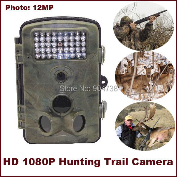 HD 1080P Hunting font b Trail b font font b Camera b font High Quality Waterproof