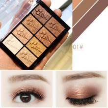 купить 8 Color Waterproof Eyeshadow Pallete Shadow Powder Matt Eyeshadow Cosmetic Highlighter Eye Makeup Palette Of Shadows в интернет-магазине
