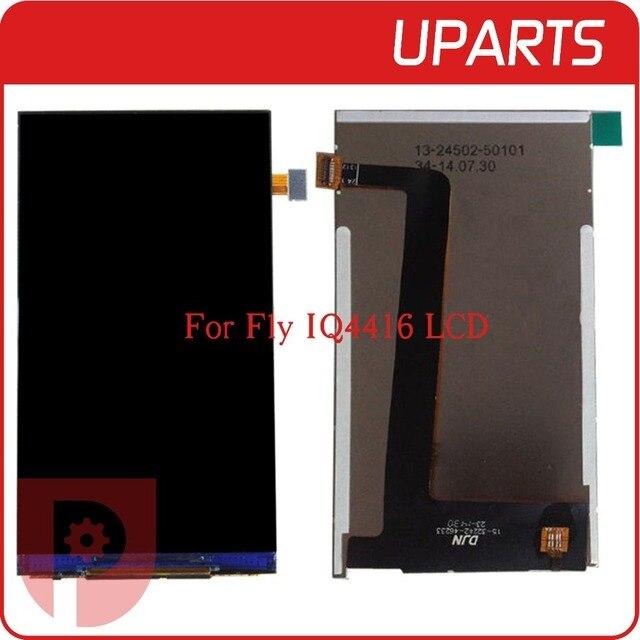 "1 unids/lote A + + + de Alta Calidad de Pantalla LCD de 4.5 ""Para Fly IQ4416 LCD Pantalla Libre Del Envío + Tracking código"