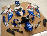 Hot Sales,Yzf600 R6 06 07 ABS fairing For Yamaha Yzf R6 2006 2007 Race Motorcycle FIAT Fairings (Injection molding)