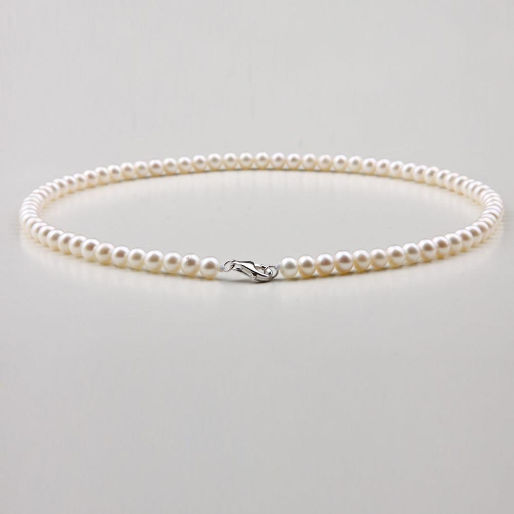 5-6 mm natural Japan Akoya white pearl necklace 18inch5-6 mm natural Japan Akoya white pearl necklace 18inch