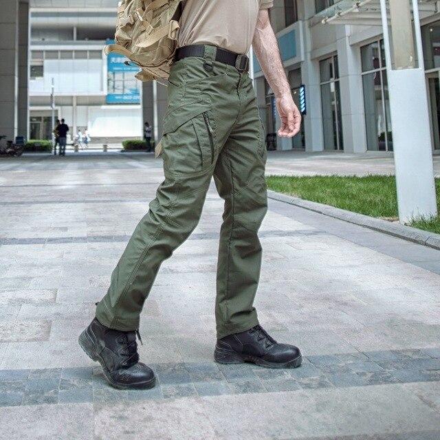 58c7e5a08f US $38.9 |Mens Forze Speciali Spetsnaz Pantaloni Cargo D'assalto Army  Tactical Pantaloni Mimetici Tuta Hombre Militare SWAT Combattimento  Pantaloni in ...
