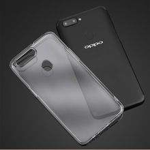 DrLmm Case For OPPO R15 R11 R11S Plus R9 R9S  F7 F5 A3 A5 Clear TPU Back Cover Anti-knock Soft
