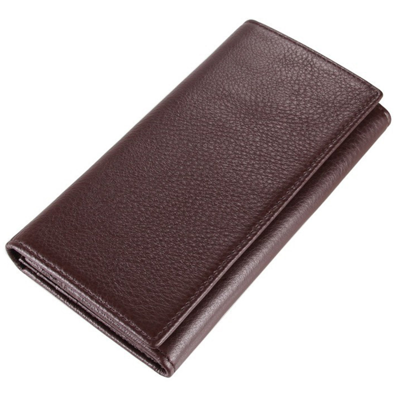 Men Wallets Genuine Leather Brand High Capacity Male Coin Purse Wallet First Layer Cowhide Man Day Clutches Bag Card Holders kavis men long wallets genuine leather luxury brand designer purse men first layer cowhide men day clutches bag