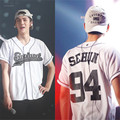KPOP EXO EXO-K EXO-M Moda Coreana 2016 Novo Álbum Planeta 3 EX'ACT Tshirt Roupas Botão T Shirts T-shirt K-POP