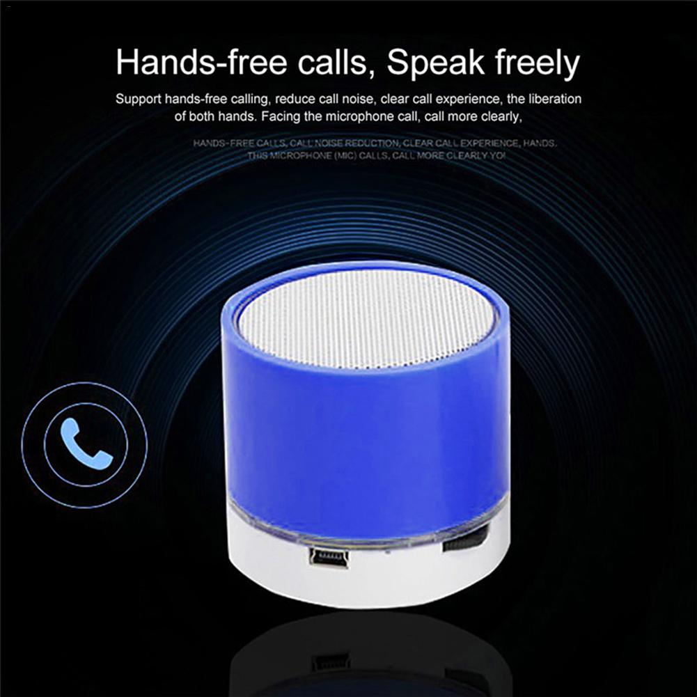 Image 3 - S10 Stereo Bluetooth Speaker Support U Disk TF Card Universal Mobile Phone Music Mini Wireless Outdoor Portable Woofer Subwoofer-in Portable Speakers from Consumer Electronics
