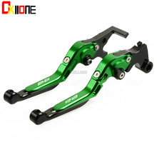 2 colors For Kawasaki Versys 650cc  650 cc NINJA 650R/ER6F/ER6N 2006 2007 2008 CNC Foldable Adjustable Brake Clutch Levers цены
