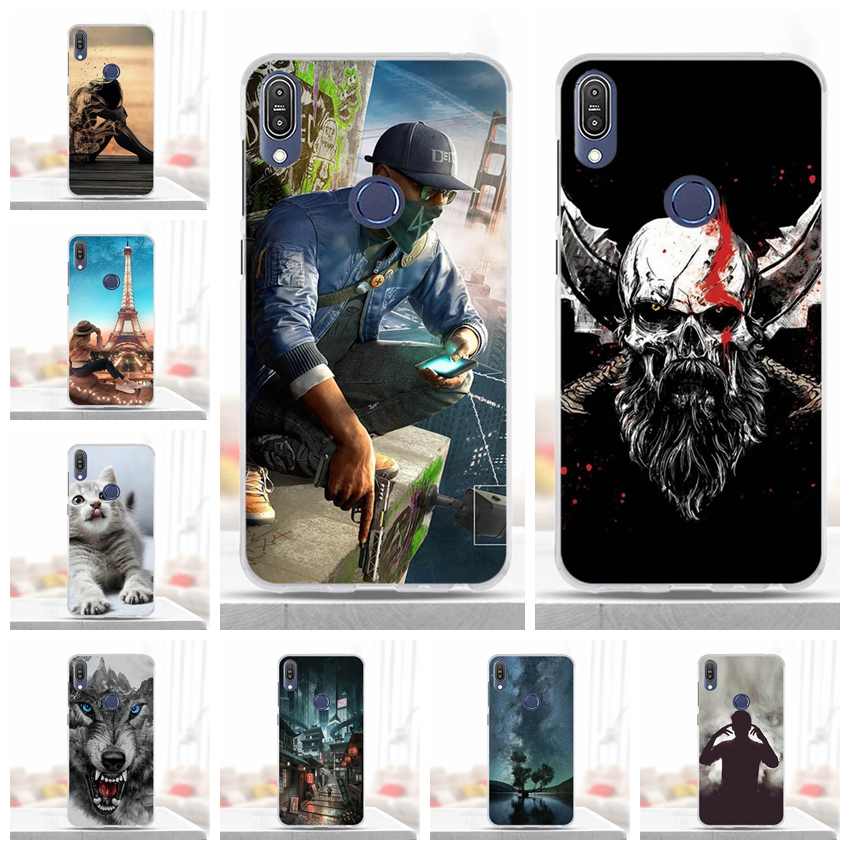 For Asus Zenfone Max Pro M1 ZB601KL Case Silicone Soft TPU Cover For Asus Zenfone ZB601KL Cover For Asus Zenfone Max Pro M1 Case