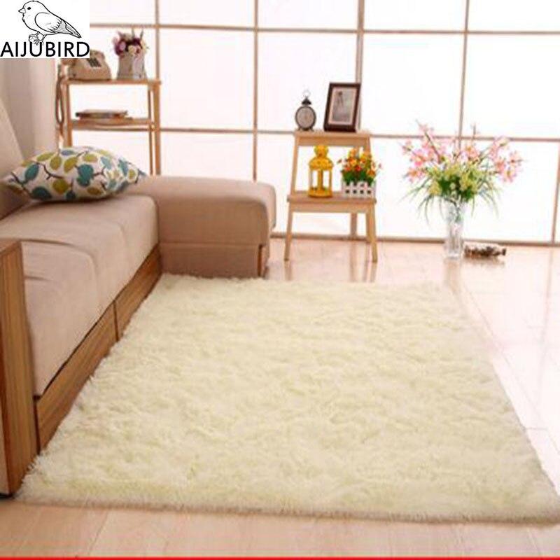 Grande taille mode tapis chambre décoration sol doux chaud coloré salon sol tapis antidérapant Mats100 % polyester