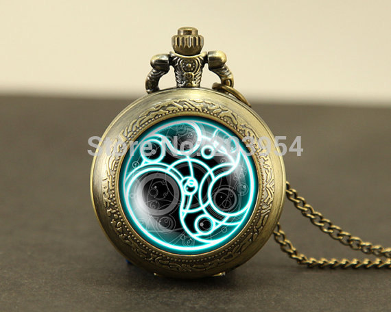 Hot doctor dr who pocket watches quartz 1pcslot necklace masters hot doctor dr who pocket watches quartz 1pcslot necklace masters brass watch locket necklace timelord seal locket chain mens in pendants from jewelry aloadofball Images