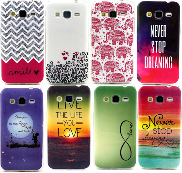 Bien-aimé For Coque Samsung Galaxy Core Prime G360 G360f G360h Case Fashion  UV17