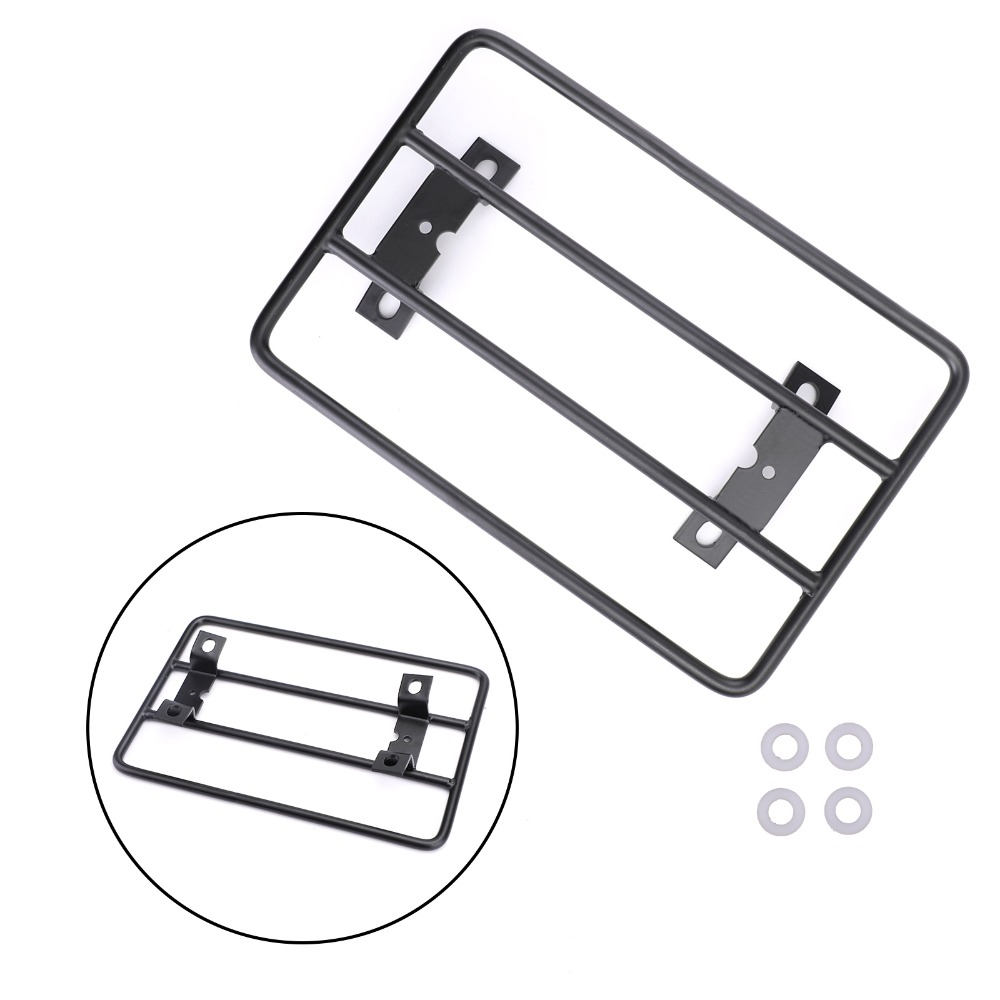 Areyourshop Motorcycle Rear Fender Rack Luggage Carrier Support For Yamaha Bolt / R-Spec / XV950R 2014-2018 Motor Accessories