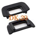 2pcs DK-20 Rubber Eye Cup Eyepiece Eyecup For NIKON D5100 D3100 D3000 D50 D60 D70S D3100 D3200 D5200 D3300