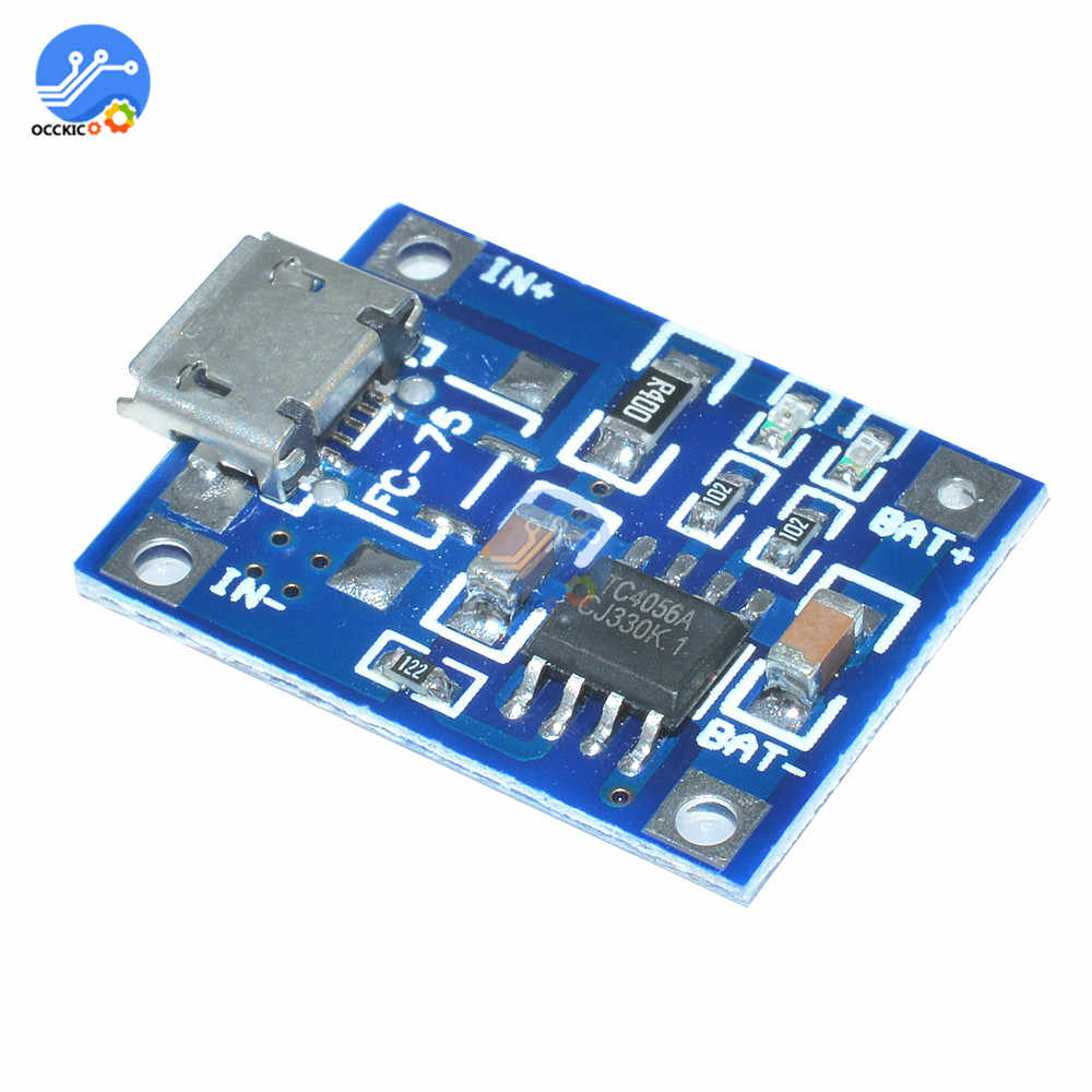 BMS 5V 1A 18650 bateria litowa ładowarka TP4056 Mini/kabel Micro USB do ładowania z funkcji ochrony