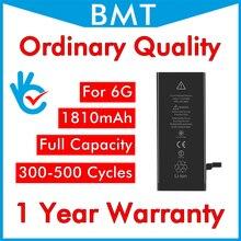 BMT original 10 pièces/lot ordinaire qualité 0 zéro cycle batterie pour iPhone 6 4.7 6G remplacement pièces de rechange BMTI6GOQ