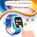 Langtek smart watch q90 posición rastreador gps y wifi buscador dispositivo con pantalla táctil niño correa de silicona reloj