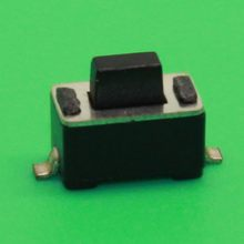 50 stücke 3x6x5mm Mikroschalter Tact Tactile Push DIP Taste Momentary 2 Pins SMD(China)