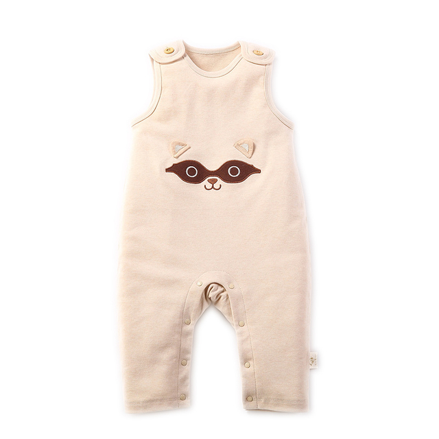 57ab7e256051 Newborn Baby Boy Girls Sleeveless Summer Organic Cotton Rompers Unisex Baby  Boy Infant Toddler Jumpsuits Overalls Onesie Clothes