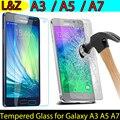 2.5D Край Осыпи Протектор Закаленное Стекло Для Samsung Galaxy A3/A5/A7 2015 Протектор де pantalla Для Samsung A3 A5 A7 Стекла фильм