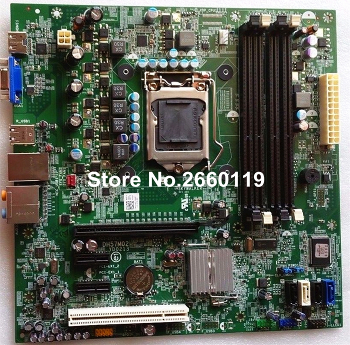 For 580S 580 DH57M02 0C2KJT C2KJT CN-0C2KJT server motherboard, fully tested