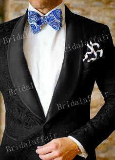 ワンダフルカスタムメイド新郎タキシードオレンジジャカードブレザー男性のスーツフォーマルメンズスーツスリムフィット 2 ピース (ジャケット + パンツ)