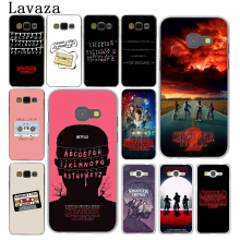 Lavaza should i stay or go Stranger Things Hard Phone Case Shell for Samsung Galaxy A3 A5 2017 A9 A8 A6 Plus 2018 Note 8 9 Cover