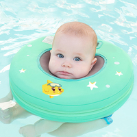 Free Inflatable Circle Baby Float Neck Baby Swimming Ring Swim Pools Accessories Safety Float For Bathing Newborns Circle Toys
