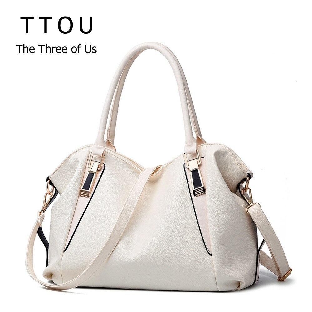 TTOU Designer Frauen Handtasche Weibliche PU Leder Taschen Handtaschen Damen Tragbare Schulter Tasche Büro Damen Hobos Tasche Totes