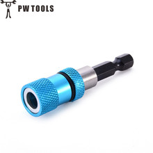 PW TOOLS 1PC Hex Shank Drill Chuck Magnetic Drywall Screw Bit Holder Tool 1/4 Screwdriver Adapter
