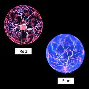Image 3 - Lampe boule en cristal magique, lampe sphère ionique, éblouissante, carnaval, lampe dambiance pour KTV purification de lair, nouveauté nocturne