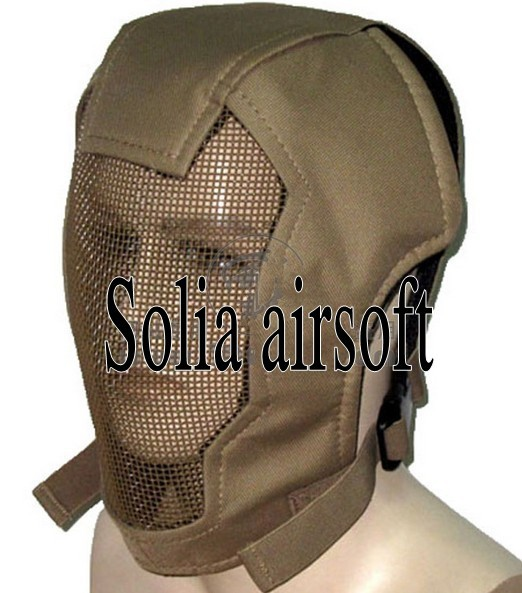 US $17 36 11% OFF Aliexpress com : Buy Full face GEN 3 steel wire gauze  mask Sand for hunting sport free shipping from Reliable mask pvc suppliers  on