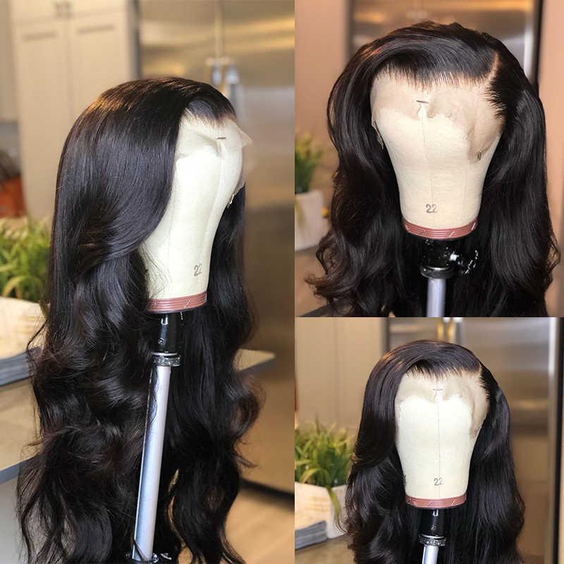 Али Королева волос предварительно сорвал полный кружева блонд или натуральные черные человеческие волосы парики с волосами младенца бразильские Remy полный парик шнурка