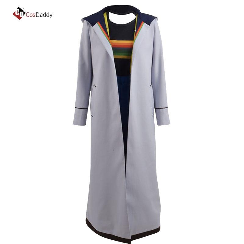Doktor Kim 13 Cosplay Costume Jodie Whittaker Palto məşhur geyim - Karnaval kostyumlar - Fotoqrafiya 1