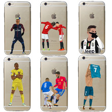 Paris Saint Germain PSG Phone Case for iPhone 5 5S SE 6 6S Plus football Neymar jr Hard PC Cover For iPhone X 7 7Plus 8 8 Plus
