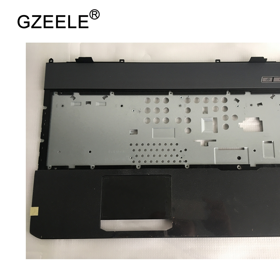 GZEELE New laptop upper case cover palmrest for ASUS G75 G75VX TOP CASE PN : 13N0-NQA0211 13GNLE1AP021-1 C shell gzeele laptop new top case for hp for pavilion dv6 3000 dv6 palmrest touchpad top upper cover keyboard bezel c shell