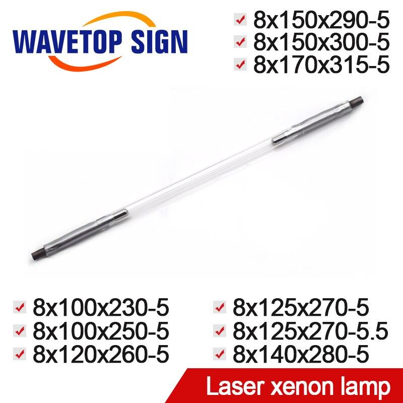 цена на Laser xenon lamp 8x100x230-5 8x100x250-5 8x120x260-5 8x125x270-5 8x140x280-5 8x150x290-5 Xenon 8x150x300-5