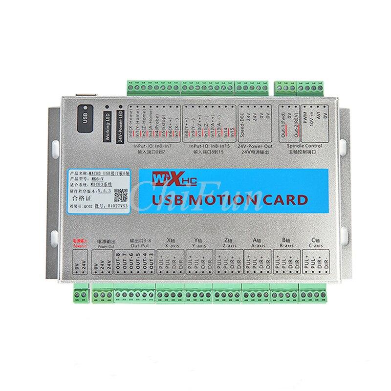 MACH3 schnittstellenkarte graviermaschine, usb cnc controller/motion ...